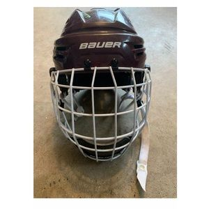 Bauer Other - Bauer Hockey Helmet with Cage 2MM Profile